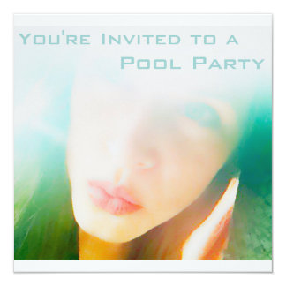 Pool Party Card