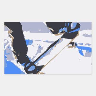 Pool Skating Skateboard Sticker