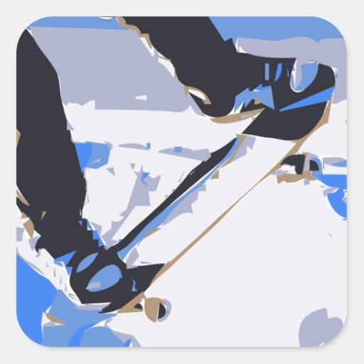 Pool Skating Skateboard Stickers