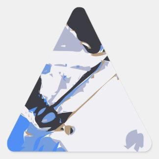 Pool Skating Skateboard Triangle Stickers