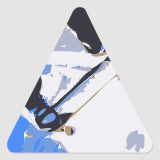 Pool Skating Skateboard Triangle Stickers