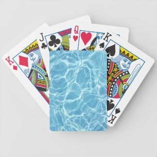 Pool Water Playing Cards