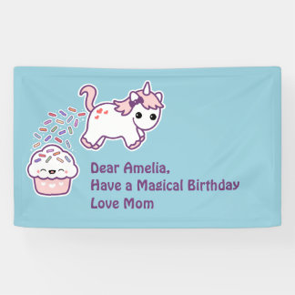 Pooping Unicorn Birthday