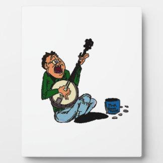 Poor Banjo Picker Display Plaque