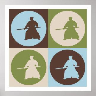 Pop Art Aikido Poster