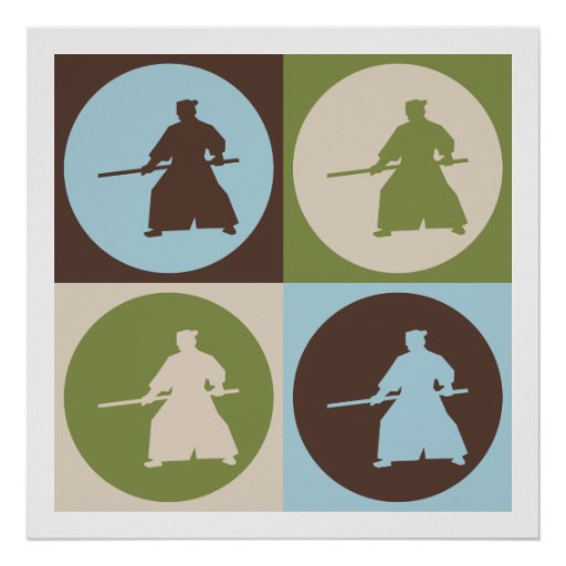 Pop Art Aikido Posters