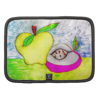 Pop Art Apples Folio Planner