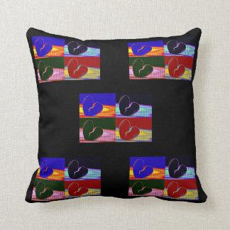 Pop Art Broken Heart Pillows
