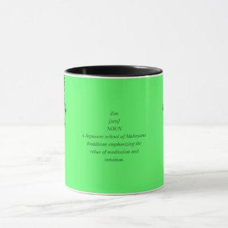 Pop Art Buddha & Zen Mug