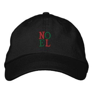 Pop Art Christmas NOEL Embroidered Baseball Caps