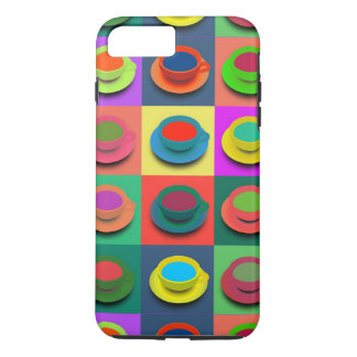 Pop-Art Coffee Mugs iPhone 8 Plus/7 Plus Case