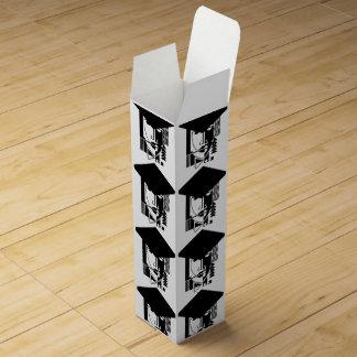 Pop Art Complicated Graduate B&W Gift Wine Box