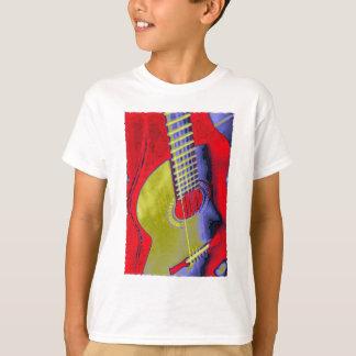 Pop Art Guitar T-Shirt