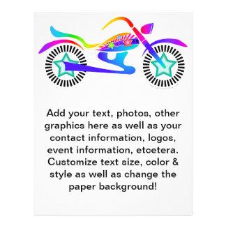 Pop Art MOTORCYCLE Promotional Flyer