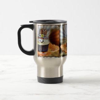 Pop Art Pilgrim Cupcakes Coffee Mugs