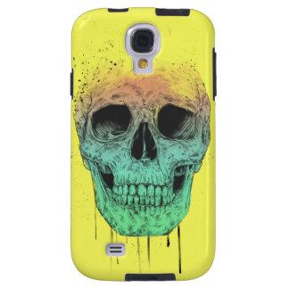 Pop art skull galaxy s4 case