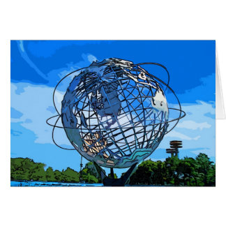 Pop Art Unisphere Card