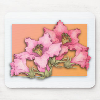 Pop off the Page Flowers Mouse Mats