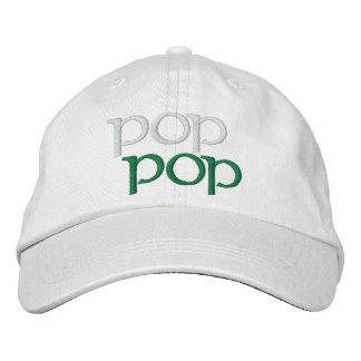 POP POP Hat Embroidered Cap