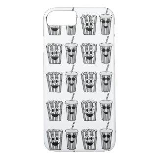 popcorn and soda iPhone 8/7 case