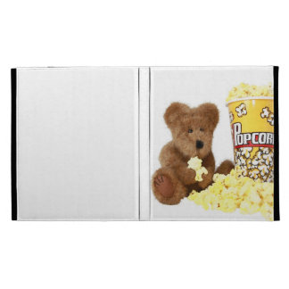 Popcorn Bear iPad Folio iPad Case