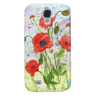 'Poppies' iPhone 3G Case Samsung Galaxy S4 Case