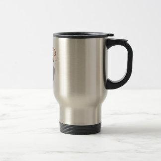 Popping Toast Stainless Steel Travel Mug