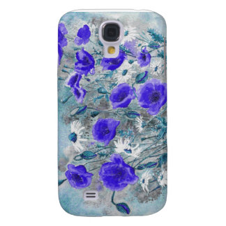 'Poppy Blue'  Galaxy S4 Cases