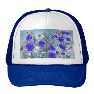 'Poppy Blue' Hat