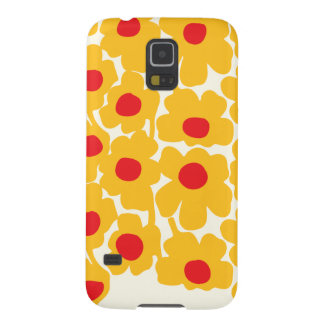 Poppy Floral Pattern Galaxy S5 Cover