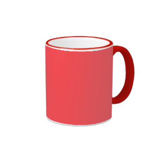 Poppy Red Fashion Color Trending Mugs