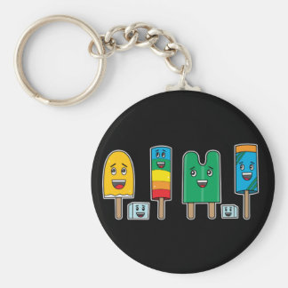 Popsicle Parade - Keychain