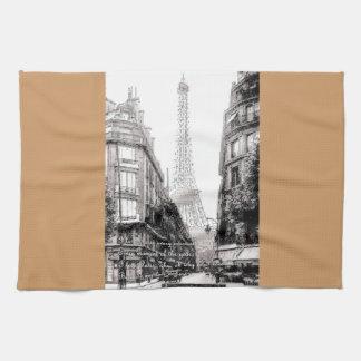 Por que eu amo Paris - Why do I love Paris Kitchen Towels