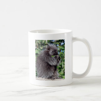 Porcupine Snacking Coffee Mug