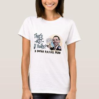 Porky POTUS Anti-Obama Gear T-Shirt