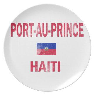 Port Au Prince Haiti Designs Plate