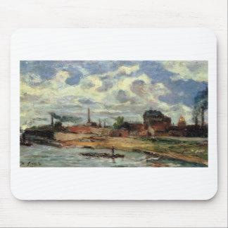 Port de Javel by Paul Gauguin Mouse Pad