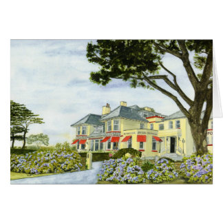 'Porth Avallen Hotel' Card