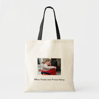 Portia and Prince Harry Tote Bag