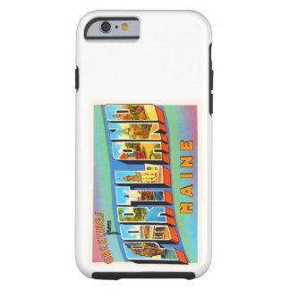 Portland Maine ME Old Vintage Travel Souvenir Tough iPhone 6 Case