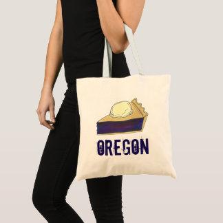 Portland OR Oregon Marionberry Berry Pie Slice Tote Bag