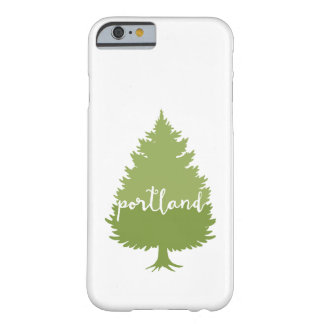 Portland, Oregon calligraphy tree Barely There iPhone 6 Case