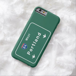 Portland Oregon or Interstate Highway Freeway : Barely There iPhone 6 Case