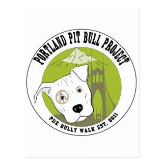 Portland Pit Bull Project Fun Products Postcard