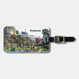 Portmeirion Centre View Luggage Tag
