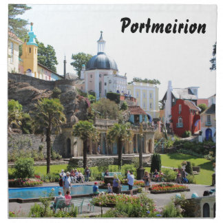 Portmeirion Centre View Napkin