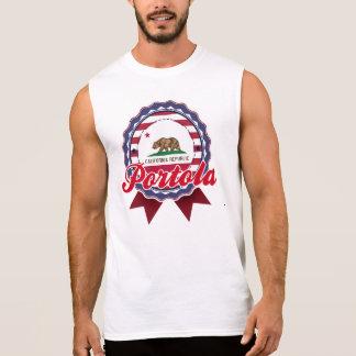Portola, CA Sleeveless Shirt