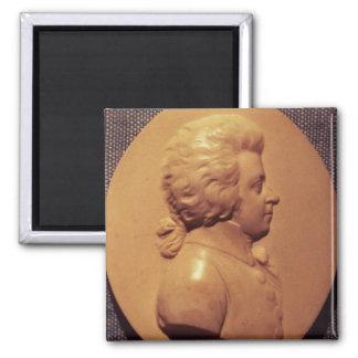Portrait medallion of Wolfgang Amadeus Mozart Magnet