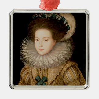 Portrait of a Lady, possibly Mary Queen of Scots ( Christmas Ornament