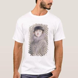 Portrait of a Lady with a Fur Collar and Muff T-Shirt